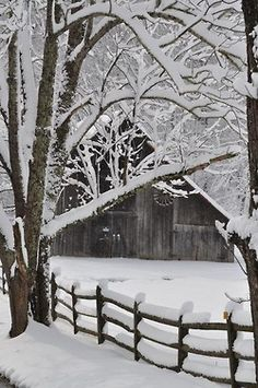 Would love to paint a snowscape, wonder how hard it is.