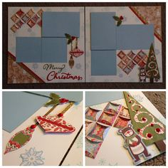 This layout was created using the White Pines paper pack from Close To My Heart. www.karenbursh.ctmh.com