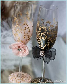 Wedding Champagne Flutes, Blush Pink Wedding Glasses, Bride and Groom Toasting Flutes Dusty Blue Wedding Flutes Personalized Mr and Mrs Gift Trend Handmade Wedding Champagne glasses/ bride and от DiAmoreDS Wedding Gifts For Bride, Handmade Wedding, Bride Gifts, Wedding Ideas, Diy Wedding Glasses, Wedding 2015, Wedding Champagne Flutes, Champagne Glasses, Gold Champagne