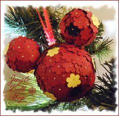 Mickey Mouse handmade ornament. $14.99, via Etsy.