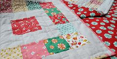 This Quilt is Quick to Make with Simple Piecing and Your Favorite Colors! A combination of 1930s Christmas fabrics with a linen background give this quilt great texture and a wonderful vintage feel. Your favorite fabrics will be just as charming in this easy quilt. Sixteen inch blocks and simple piecing make this go together …
