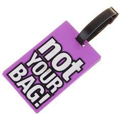 Identificador de malas - NOT YOUR BAG
