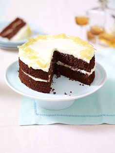 Mary Berry's gorgeous ginger and chocolate cake