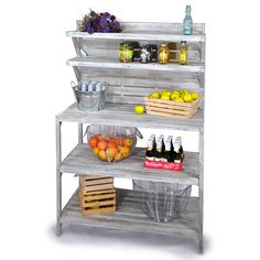 ($175) - Interesting idea for keeping mixer and bowls, etc.