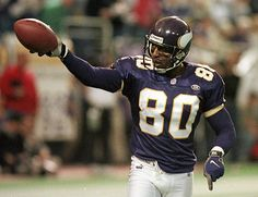 80 FOR 80 Cris Carter is synonymous with which was his jersey number during  an impressive 12 seasons as a wide receiver with the Vikings. 074a12323