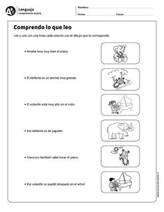 Comprendo lo que leo Learning Spanish For Kids, Teaching Spanish, Learn Spanish, Spanish 1, Elementary Spanish, Spanish Classroom, Speech Language Therapy, Speech And Language, Sign Language