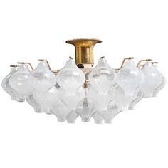 Kalmar Tulipan Chandelier   From a unique collection of antique and modern chandeliers and pendants  at https://www.1stdibs.com/furniture/lighting/chandeliers-pendant-lights/