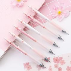 Stationary Supplies, Stationary School, Cute Stationary, School Stationery, Stationery Items, Japanese School Supplies, Cute School Supplies, Cute Pens, School Accessories