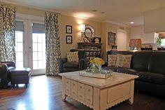 Dallas, TX: James and Lynsey Purl - traditional - living room - dallas - Sarah Greenman