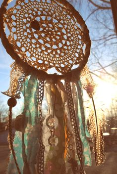 Beautiful ! Love etsy!   The Beach Combers Dream Catcher by Run2theWild on Etsy, $35.00