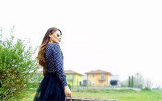 Gatta Vaidosa: Camisa Poá Dresslink! #blouse #camisa #look #blogger