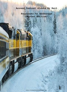 Around Central Alaska By Rail- Fairbanks to Anchorage (Winter Edition): Taking Aurora Winter Train from Fairbanks to Anchorage in December, and you will find another part of Alaska you could have ever imagine...