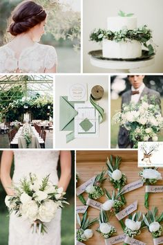 Fall Wedding Colors- Desert Sage Wedding Colour Palette - Deer Pearl Flowers