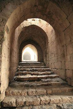 Castillo Crac de los Caballeros Cruzados, provincia de Homs, Siria
