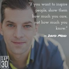 You know David Mead is a pretty smart dude.  #sp30 #lifequotes...