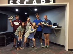 This experiment group were caught trying to escape from The Facility!