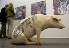 Tattoo pig!
