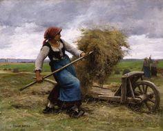 peintre julien dupre - Page 2 Animal Painter, Old Farm Equipment, Farm Art, Cottage Art, Julien, French Art, Pictures To Paint, Black Art, Monet