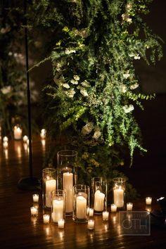 Wedding Brooklyn Liberty Warehouse Chuppah Flowers