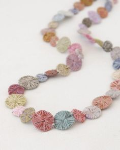 Sophie Digard necklace in circles