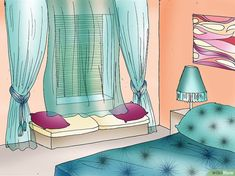 How to Feng Shui Your Bedroom. The ancient Chinese method of Feng Shui helps us to balance our homes and create happier, more successful lives, room by room. We often turn our attention to the bedroom, the sanctuary where we can rest and. Cores Feng Shui, Feng Shui Dicas, Feng Shui Espejos, Feng Shui Habitacion, Feng Shui Your Bedroom, Ideas Armario, Fen Shui, Feng Shui Colours, Farmhouse Side Table