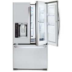 LG 26.6-cu ft 4-Door French Door Refrigerator with Single Ice Maker and Door within Door (Stainless Steel) ENERGY STAR
