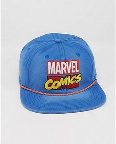 4b13008319a Embroidered Marvel Comics Snapback Hat - Spencer s