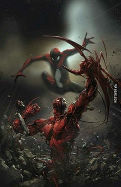 How many of guys would love to see a Spider Man vs Carnage movie?