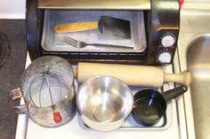 Easy Bake Water Crackers: 8 Steps Water Crackers Recipe, 4 Ingredient Recipes, 4 Ingredients, Food To Make, Baking, Simple, Easy, Bakken, Backen