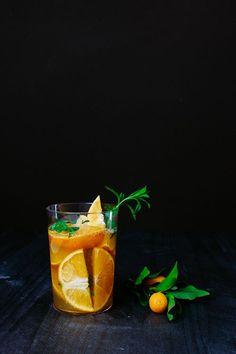 Tarragon-Infused Iced Tea