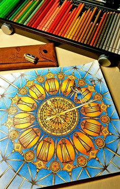 #DariaSong #TheTimeChamber Colored with Faber-Castell Polychromos by ulbrican - inspired by #Julie'sPassionForColoring