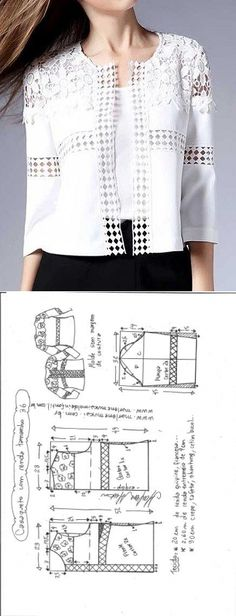Amazing Sewing Patterns Clone Your Clothes Ideas. Enchanting Sewing Patterns Clone Your Clothes Ideas. Coat Patterns, Clothing Patterns, Dress Patterns, Sewing Patterns, Diy Fashion, Ideias Fashion, Fashion Design, Fashion Ideas, Sewing Blouses