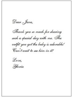 Wedding Gift Thank You Wording In Spanish : baby shower thank you cards wording baby shower thank you notes baby ...