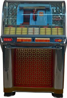 Seeburg model 100G ~ Delux high Fidelity ~ Select-o- matic 100 jukebox ~ coin-op ~ circa 1953
