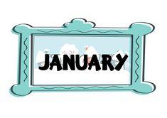 Miesiące - plansze do wydrukowania - Pani Monia Frame, Home Decor, Picture Frame, Decoration Home, Room Decor, Frames, Home Interior Design, Home Decoration, Interior Design