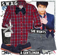 """""""She Wants A Gentleman"""" by elaine-elizabethxo ❤ liked on Polyvore"""