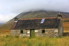 Shepherd's bothy.  Maintained for hikers. West Highland Way, Scotland