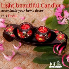 Light beautiful Candles to accentuate your home decor this Diwali! BUY NOW
