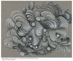 Zentangle Classes & Monthly Tangled Expressions Meeting by Sharla Hicks CZT at Soft Expressions Store Zentangle Drawings, Doodles Zentangles, Zentangle Patterns, Art Drawings, Zen Doodle, Doodle Art, Renaissance, Tangle Art, Bookbinding