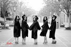 Grad Girls Holding Hands (Bryan Miraflor Photography)