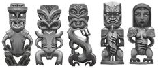 ArtStation - Marae Carving Designs, Jared Wikeepa