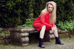 Red Sangria Dress by Melismee www.melismee.com