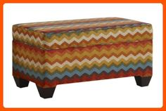 Skyline Furniture Storage Bench in Panama Wave Adobe - Improve your home (*Amazon Partner-Link)