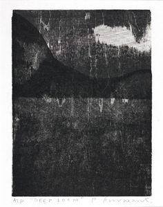 Sumi Landscape   Paul Furneaux: printmaking artist