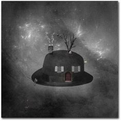 Trademark Fine Art Home Sweet Home Canvas Art by Erik Brede, Size: 18 x 18, Multicolor
