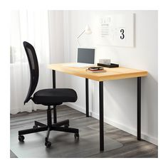TORNLIDEN / ADILS Tisch - Kiefer/schwarz - IKEA