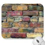 KB initials graffiti style on a brick background Mousepad