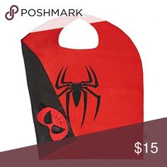 Spiderman costume Brand new. In package. Cape and mask only as pictured Costumes Superhero