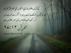 The Quran (Surah al-Mulk) As for those who fear their Lord in secret, for them is Forgiveness and a great Reward. Quran Urdu, Islam Quran, Quran Quotes Inspirational, Islamic Quotes, Muslim Faith, Quran Pak, Hadith Quotes, Allah Love, Myself Status