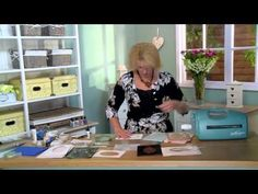Crafting My Style with Sue Wilson - OYSTER SHELL BACKGROUND for Creative Expressions - YouTube